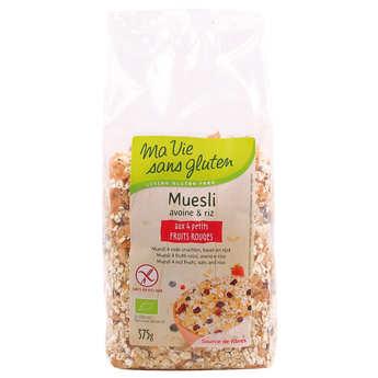 Ma vie sans gluten - Mueslis bio aux quatres petits fruits rouges - sans gluten