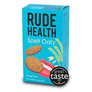 Rude health - Biscuit salé d'épeautre et d'avoine - Rude Health