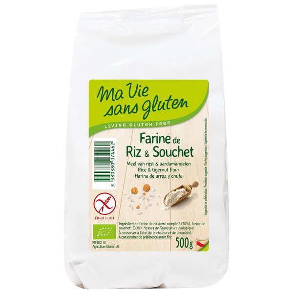 Farine bio de riz et souchet sans gluten