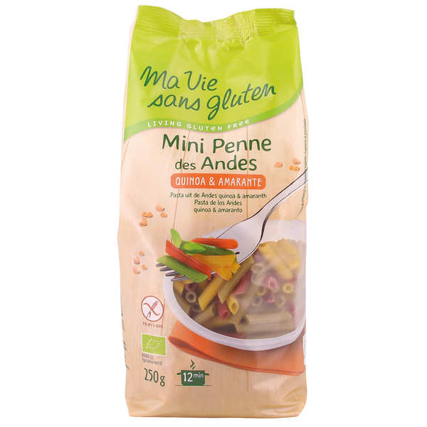 Organic Andean Penne - gluten free