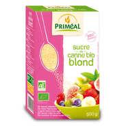 Priméal - Sucre de canne blond bio en étui