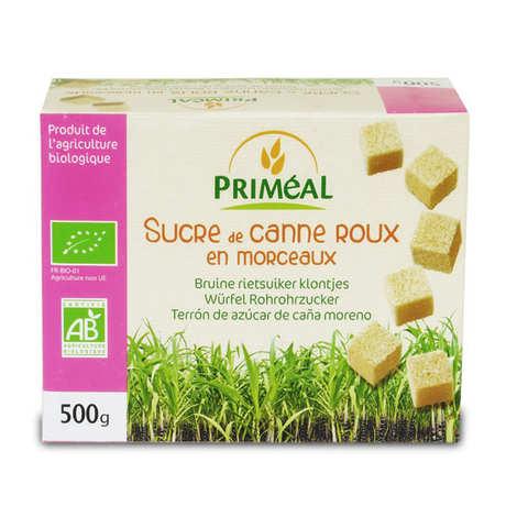 Priméal - Organic Brown cane sugar un pieces