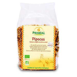 Priméal - Organic Pipocas - Blown Quinoa Coated with Honey