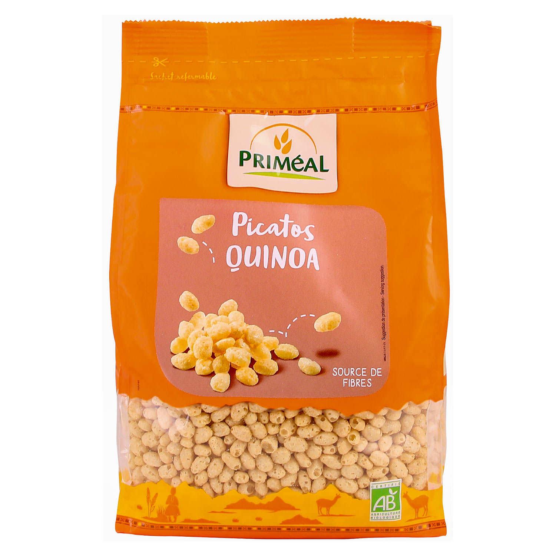 Organic Picatos - Crispy pops of Quinoa with honey