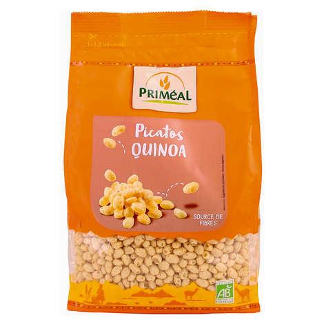 Priméal - Picatos bio - Grains croustillants au Quinoa enrobés de Miel