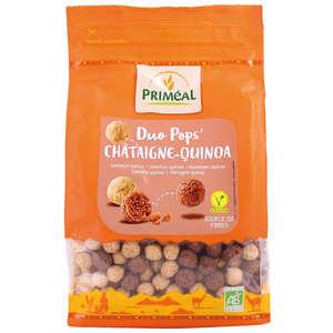 Priméal - Organic Chataign'pops - Crunchy chesnuts pops
