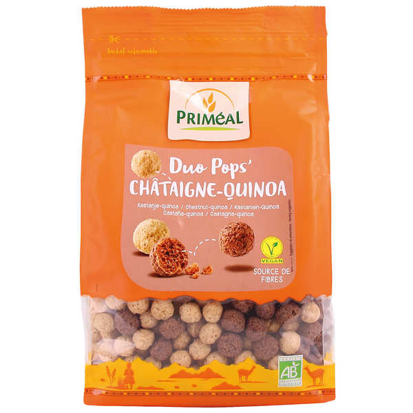 Organic Chataign'pops - Crunchy chesnuts pops