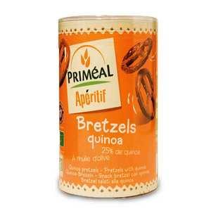 Priméal - Bretzels bio au quinoa
