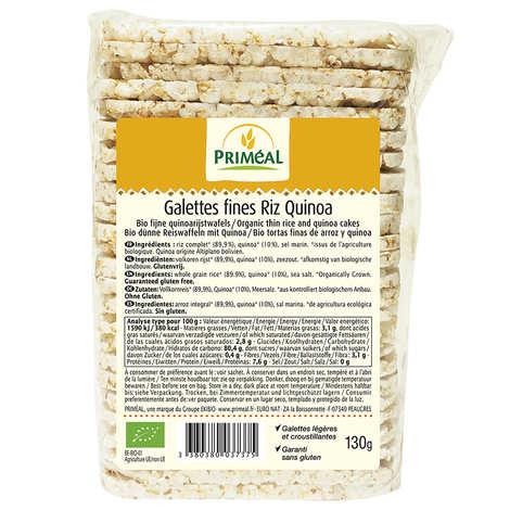 Priméal - Organic Rice and Quinoa Crisps