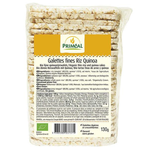 Organic Rice and Quinoa Crisps