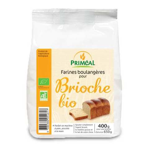 Priméal - Organic mix for brioche