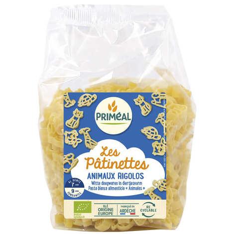 Priméal - Les Pâtinettes animaux rigolos - pâtes bio