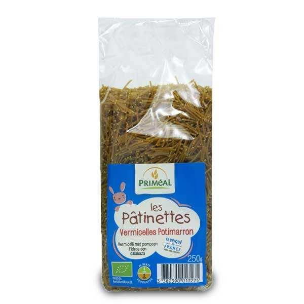 Les Pâtinettes vermicelles de potimarron - pâtes bio