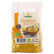 Priméal - Couscous bio maïs, chia et riz parfumé au citron
