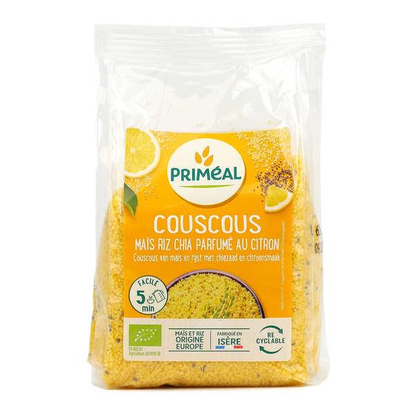 Couscous bio maïs, chia et riz parfumé au citron