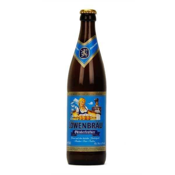 Lowenbrau Oktoberfest - Bière allemande 6%