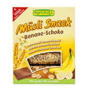 Rapunzel - Organic Muesli chocolate and banana bar