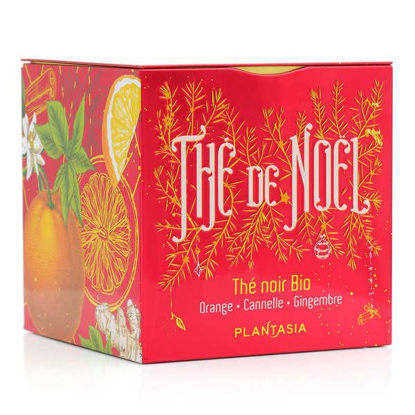 Thé de Noël bio - orange cannelle, gingembre