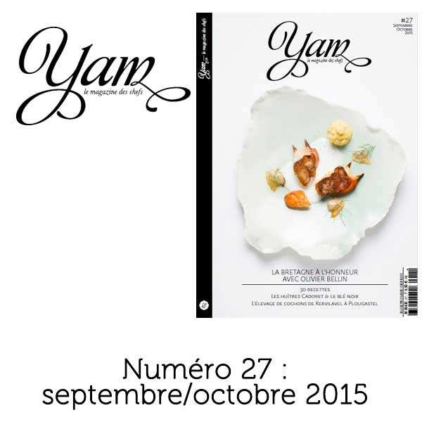 French magazine about cuisine - YAM n°27