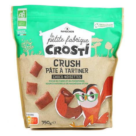 Favrichon - Crosti coeur fondant choco noisettes bio