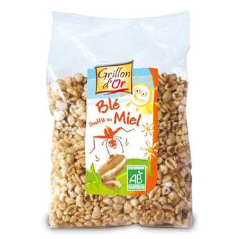 Grillon d'or - Organic Puffed wheat with honey