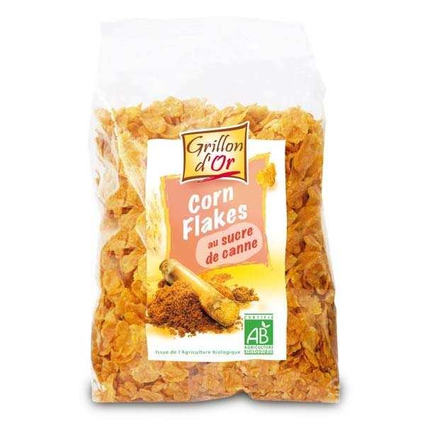 Corn Flakes bio glacés au sucre de canne