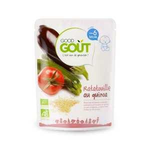 Good Goût - Ratatouille au quinoa - Petit plat  bio dès 6 mois