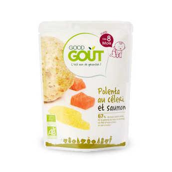 Good Goût - Céleri, polenta et poisson - Petit plat  bio dès 8 mois