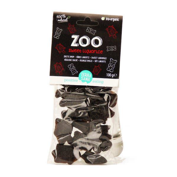 Bonbons réglisse zoo bio