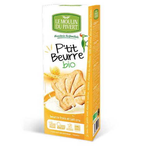 Le Moulin du Pivert - Biscuits P'tit beurre bio au lait cru