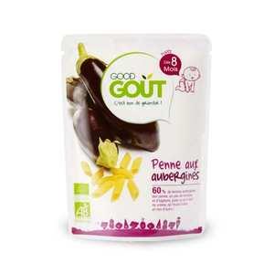 Good Goût - Pennes aux aubergines - Petit plat bio dès 8 mois