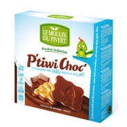 Le Moulin du Pivert - Organic Biscuits with Milk Chocolate