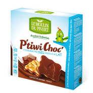 Le Moulin du Pivert - P'tiwi bio - petit beurre au chocolat au lait