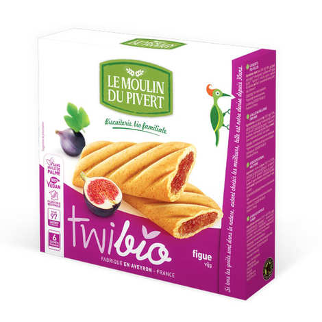 Le Moulin du Pivert - Twibio - Organic Biscuits stuffed with Fig