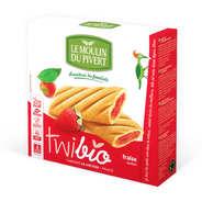 Le Moulin du Pivert - Twibio - Biscuit bio fourré à la fraise