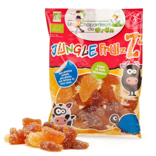 Bonbon bio Jungle Fruizz aux fruits