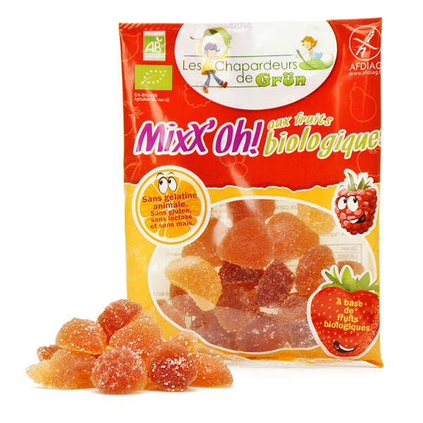Bonbon bio Mixx'oh aux fruits