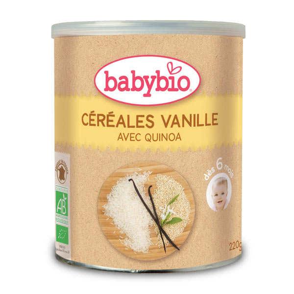 Céréales bio Vanille et quinoa dès 6 mois