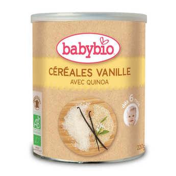 Baby Bio - Céréales bio Vanille et quinoa dès 6 mois