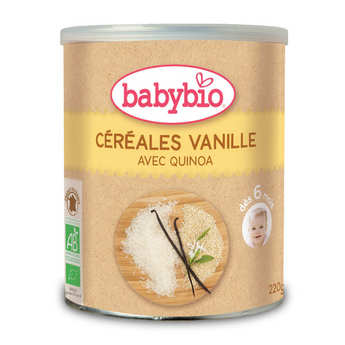 Baby Bio - Preparation Of Cereals, Vanilla and Quinola