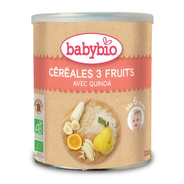 Organic Preparation Of Cereals, 3 fruits and Quinola