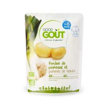 Good Goût - Fondue de poireaux et pommes de terre - Petit plat  bio dès 6 mois