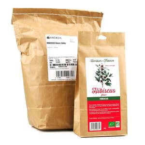 Cook - Herbier de France - Fleurs d'hibiscus bio