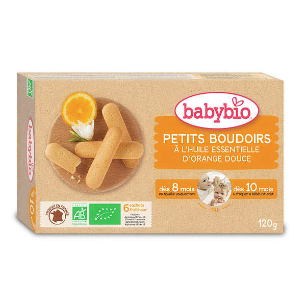 Organic Baby biscuits from 8 month