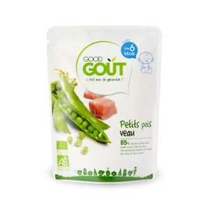 Good Goût - Peas and Salmon - Organic Small Flat From 15 months