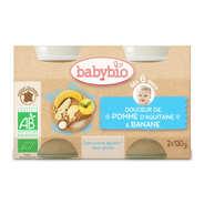 Baby Bio - Petits pots bio douceur de pomme & banane dès 6 mois