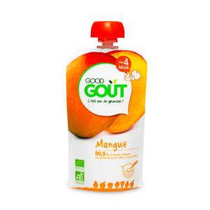 Good Goût - Gourde de mangue bio - Dès 4 mois