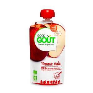 Good Goût - Organic Gala AppleGourde - From 4 months