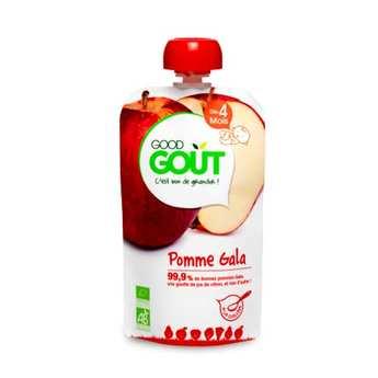 Good Goût - Gourde de pomme Gala bio - Dès 4 mois