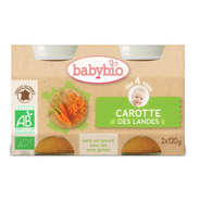 Baby Bio - Organic Carrots Baby food jar from 4 months